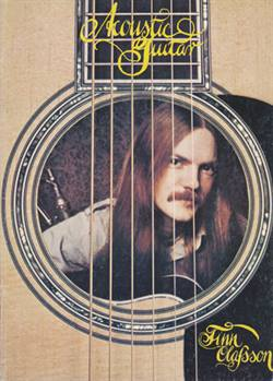 Finn Olafsson:<BR>\'Acoustic Guitar\' - Original guitar music book