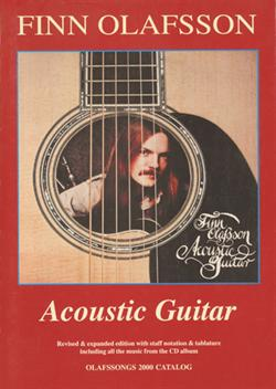Finn Olafsson:<BR>\'Acoustic Guitar\' - Guitar TAB music book