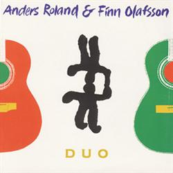 Anders Roland & Finn Olafsson:<BR>\'DUO\' - CD